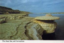The Dead Sea - Salt Formations - Formato Grande Non Viaggiata – Fe1 - Cartoline