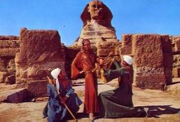 The Ballerina Farida Fahmy At The Sphinx Of Giza - Formato Grande Non Viaggiata – E 7 - Cartoline