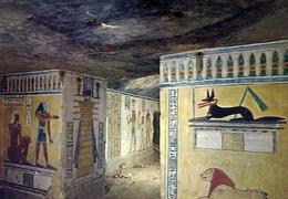 Luxor - Queen's Vallery - Mural Painting In The Tomb Of Chamwes - Formato Grande Non Viaggiata – E 7 - Luxor