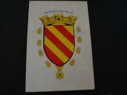 Blason écusson Adhésif Autocollant Avesnes Sur Helpe - Obj. 'Souvenir De'