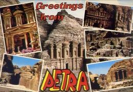 Greetigs From - Petra - Formato Grande On Viaggiata – Fe1 - Cartoline