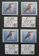 South Africa / RSA 1960s; Error, Variety! Fauna, Birds; MNH** Neuf; Postfrisch; - Südafrika (1961-...)