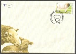 Bosnia And Herzegovina - Sheep, FDC, 2007 - Ferme