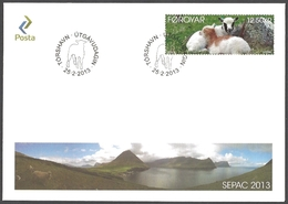 Faroe Islands - Baby Animals, FDC, 2013 - Ferme