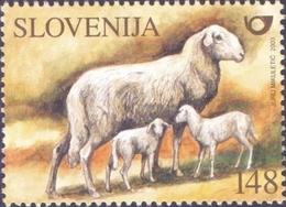 Slovenia - Sheep, Stamp, MINT, 2003 - Ferme