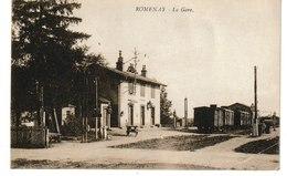 Saône Et Loire  ROMENAY La Gare - Ohne Zuordnung