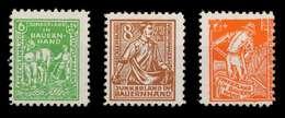 SBZ MECKLBRG VORP. Nr 23b-25b Postfrisch X809D6A - Zona Soviética