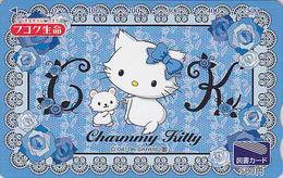 Carte Prépayée Japon - COMICS - CHAT HELLO KITTY ** CHARMY ** - CAT Japan Prepaid Tosho Card - KATZE - 5113 - Comics