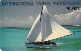 FRENCH ANTILLES - DREAM TEAM TELECOM / Sailship, 5000 Ex. Only - Antilles (Françaises)