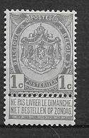 OBP53, Postfris** - 1893-1900 Thin Beard