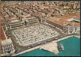 °°° 14958 - PORTUGAL - LISBOA - PRACA DO COMERCIO E VISTA AEREA - 1964 With Stamps °°° - Lisboa
