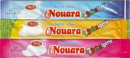 """Sucre - 3 Sticks De Sucre Vide """" Nouara""""- Algérie. - Sucres"""