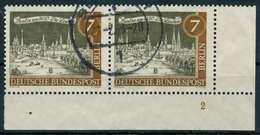 BERLIN 1962 Nr 218 Gestempelt WAAGR PAAR FORMNUMMER 2 X9068BE - Berlin (West)