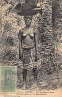 CPA DAHOMEY - Une Marchande De Nattes - Dahomey