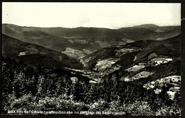 Bad Peterstal ( Renchtal ) / Schwarzwald  -  Blick Von Der Schwarzwaldhochstrasse  -  Ansichtskarte Ca. 1966    (11908) - Bad Peterstal-Griesbach