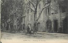 """/ CPA FRANCE 83 """"Aups, Faubourg Du Couvent"""" - Aups"""