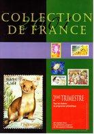 """"""" COLLECTION  DE  FRANCE : ANNEE 2001 2ème Trimestre """".  Faciale 16.70 € Voir Les Scans. Parfait état. - Collezioni"""