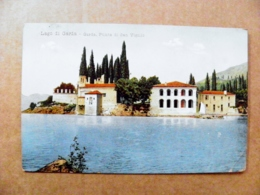 Old Post Card Carte Karte Italy 1909 Lago Di Garda - 1900-44 Victor Emmanuel III