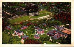 Kentucky Lexington Aerial View University Of Kentucky 1937 - Lexington