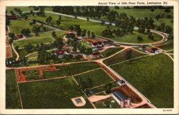 Kentucky Lexington Aerial View Of Idle Hour Farm 1949 Curteich - Lexington