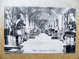 Old Post Card Carte Karte Italy Torino 1911 Palazzo Reale Sala D'armi - 1900-44 Vittorio Emanuele III