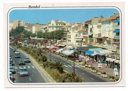 83 - BANDOL - Les Boutiques Du Quai De Gaulle - Voitures (J192) - Bandol
