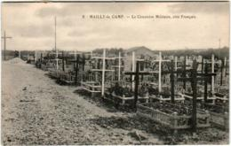 5IPS 713 CPA - CAMP DE MAILLY  - LE CIMETIERE MILITAIRE - Mailly-le-Camp