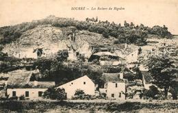 13540430 Bourre Les Rochers Du Rigodon Bourre - Francia