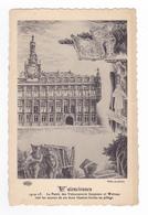 Série Villes En Pleurs Guerre 1914 15 Valenciennes Patrie De Carpeaux Et Watteau Voit Leurs Oeuvres Livrées Au Pillage - Valenciennes