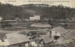 HUELGOAT GARE Vue Des Ateliers De La Scierie Hydraulique De J F Le Guillou RV - Huelgoat