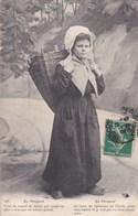 En Périgord - Je Viens De Ramasser De L'herbe Pour Mes Lapins... - Folklore Costume Traditionnel Coiffe Hotte - CAD - France