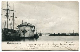 CPA - Carte Postale Signée Par HENRI BAELS - Allemagne - Wilhelmshaven - Hafenbild - 1904 ( HB10896) - Wilhelmshaven