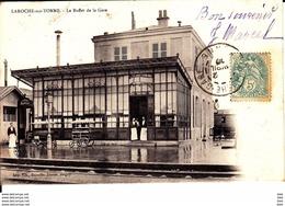 89 . Yonne :  Laroche  Migennes : Le Buffet  De La Gare . - Migennes