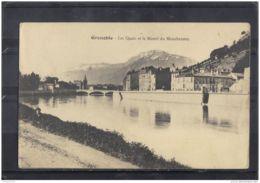 38100 . GRENOBLE . LES QUAIS ET LES MASSIFS DU MOUCHEROTTE - Grenoble