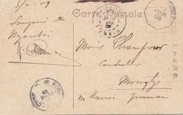 Japan 1909: Post Card Haiphon To Mongtze Via Hanoi - Japón