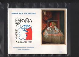 RWANDA / FDC Du 04.04.1975 / ESPANA '75 / MADRID - Rwanda