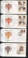 RWANDA / 4 FDC's Du 19.11.1979 / ANNEE INTERNATIONALE DE L'ENFANT - Ruanda