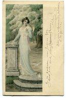 CPA - Carte Postale Signée Par HENRI BAELS - Illustrateur - M.M.Vienne - Jeune Femme - 1904 ( HB10899) - Vienne