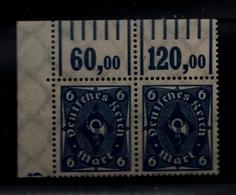 DEUTSCHES REICH 1922 Nr 228W OR-Paar Postfrisch ME 26.- (93072) - Deutschland