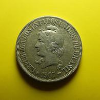 Brazil 500 Reis 1907 Silver - Brasil