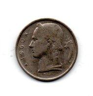 Belgique  Pièce 1960 - Baudouin I - 5 Fr   Monnaie Money - 1951-1993: Baudouin I