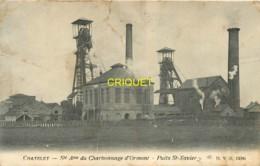 Belgique, Chatelet, Sté Charbonnage D'Ormont, Puits St Xavier, Pas Courante - Châtelet