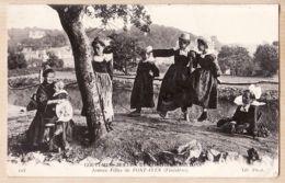 X29031 PONT-AVEN Finistère Moeurs Et Costumes Bretons Jeunes Filles 1910s NEURDEIN 113 - Pont Aven
