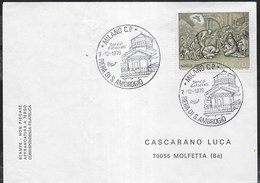 ANNULLO SPECIALE - MILANO C.P. - 07.12.1978 - FIERA DI S. AMBROGIO - SU BUSTA - 1971-80: Marcophilia