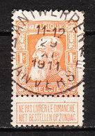 79  Grosse Barbe - Bonne Valeur - Oblit. Centrale ANTWERPEN 1E - LOOK!!!! - 1905 Thick Beard