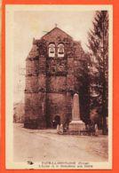 X23065 FAUX-LA-MONTAGNE 23-Creuse Eglise Et Le Monument Aux MORTS 1940s à GRANET Avenue Foucaud Limoges-FAURY Hirondelle - France