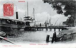 Annam - Tourane - Chaloupe Chinoise En 1905 - Vietnam