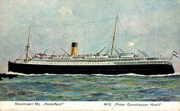 Prentbriefkaart SMN - M.S. Pieter Corneliszoon Hooft - Paquebote