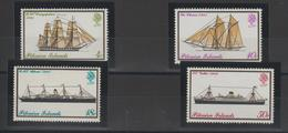 Pitcairn 1975 Bateaux 145-148 4 Val ** MNH - Briefmarken