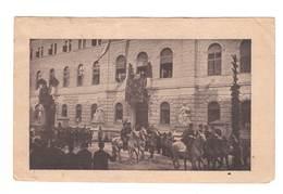 Jugoslawien , Alte Fotoansichtskarte Mit Kettensprenger Ausgabe , Rot Gestempelt - Covers & Documents